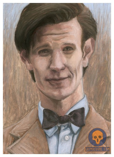 11th Doctor_Sketch_Card