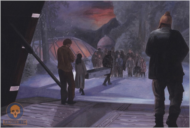 official Firefly gouache painting by rupam @ grimoeuvre.com