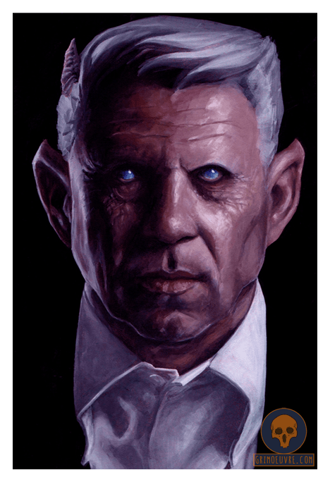 Dark Horror Art by Rupam @ Grimoeuvre.com